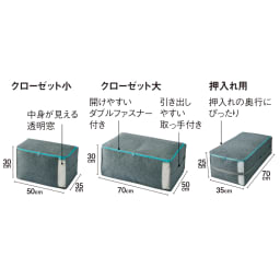 吸湿・消臭AirJob(R)布団収納袋 単品 小