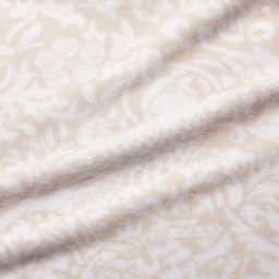 ピュア・モリス 綿毛布〈ピュアいちご泥棒〉 [生地アップ] (ア)アイボリー
