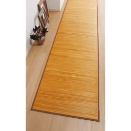 竹マット 大きいサイスは廊下敷きとしても。