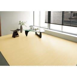 39穴籐カーペット ※写真は江戸間6畳 約261×352cmタイプです。