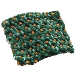 スペイン製はっ水カバー[サマンサ] チェアカバー ベンチタイプ(1枚) (オ)グリーン系