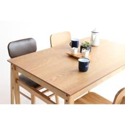 コンパクトなブルックリン風シリーズ ダイニングテーブル 幅120cm