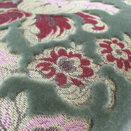 イタリア製金華山織DXソファ カウチソファ 立体的な起毛仕上げの高級感のある張地です。