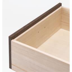 総桐民芸箪笥 5段ハイチェスト・幅100高さ98.5cm たとう紙が入る引き出しは箱組仕様。