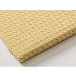 丸洗いできる!すっきりデザインのずれにくい軽量置き畳 ミニサイズ60cm×60cm・3畳用(6枚組) (エ)アイボリー