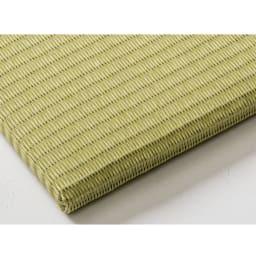 丸洗いできる!すっきりデザインのずれにくい軽量置き畳 ミニサイズ60cm×60cm・3畳用(6枚組) (イ)リーフグリーン ディノスだけのカラー
