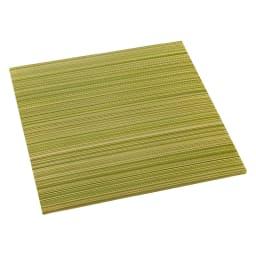 へりなしフロア畳 ミックス色 (ア)グリーン系