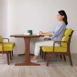ゆったり寛げるリビングダイニングシリーズ テーブル テーブル下高さ62.5cm