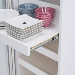 食器が取りやすい引き戸式魅せる収納庫 幅140奥行50cm