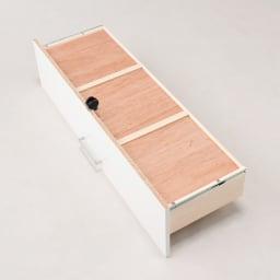 【分類して効率収納】引き出しいっぱいステンレストップカウンター 幅60cm 引出し裏もしっかり補強。