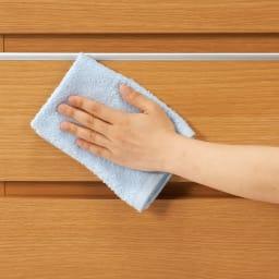 コーナーまで使える高さサイズオーダーカウンター下収納庫 引き戸タイプ 収納庫 幅160奥行30cm (ア)~(ウ)は光沢仕上げ。(エ)~(ク)は木目調シートを使用。汚れに強くお手入れも簡単。