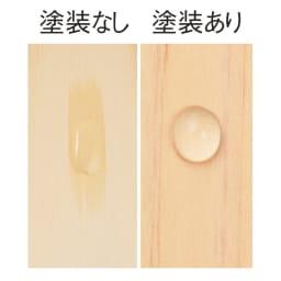 国産ひのきキッチンラック スライド2段タイプ ハイタイプ(高さ179cm)幅60cm 【お手入れ簡単】棚板は水や汚れの浸透を軽減するウレタン塗装。