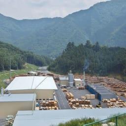 国産ひのきキッチンラック スライド2段タイプ ハイタイプ(高さ179cm)幅80cm 【丈夫で高品質な国産材】含水率測定や強度計測などを建築用材料と同レベルで徹底管理された国産材を、但馬の熟練職人が丁寧に仕上げています。(※写真は兵庫木材センター)