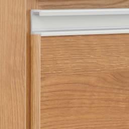 組立不要 スライド天板キッチン収納 引き出し 幅76cm (ア)ブラウン