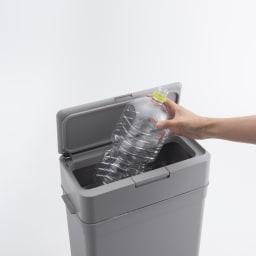 Seals(シールズ) ダストボックス 25リットル ワイドな開口部でゴミ捨てがラク。