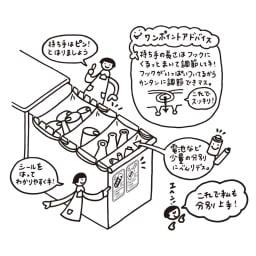 分別スウィングステーション(ダストボックス) 5段・タワータイプ