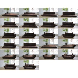 お好みスタイルが自在に!洗えるカバーリング マルチリクライニングソファ ハイバックタイプ マルチな動きで快適空間を演出。 ※画像は別商品です。