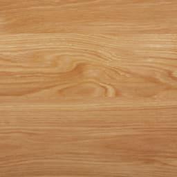 折りたたみできるスマートスタイルテーブル 89×44cm (ウ)ナチュラルは木目が美しいグレイッシュな天然木調。