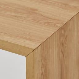 折りたたみできるスマートスタイルテーブル 120×59cm 細部まで丁寧に仕上げた日本製。造りのよさがシンプルさを際立たせます。