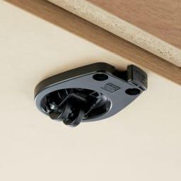 天然木調お掃除がしやすいコーナーテレビ台・テレビボード ハイタイプ 幅120cm 隠しキャスターはストッパー付きで固定もしっかり。