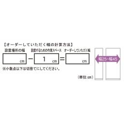 【日本製】壁面や窓下にぴったり収まる高さサイズオーダー収納庫 奥行44cmタイプ 扉 幅60cm 扉タイプは、幅25~45cmの範囲で、1cm単位でオーダー承ります。 ※幅オーダーは商品番号532816・532817でお申し込み下さい。