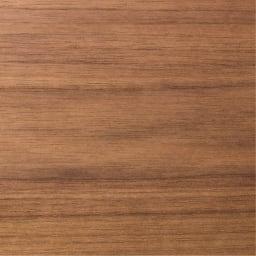 木目が綺麗な突き板キャビネット ロータイプ 幅80高さ70cm (突き板仕上げ)天然木の素材感を生かした仕上げです。(ア)ブラウン(ウォルナット)
