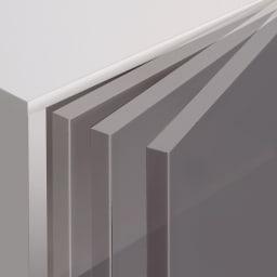 【パモウナ社製】使いやすさを考えた美しいシステム収納 フレキシブルキャビネット 幅60cm 扉にはゆっくり静かに閉まる、高品質ダンパーを装着。