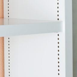 幅・高さオーダー対応 ロー本棚 奥行30cmタイプ 幅61~90cm・高さ60~100cm 可動棚は1cm間隔で高さ調節可能。