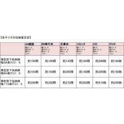 1cmピッチ薄型窓下収納庫 【幅86奥行31.5cm】