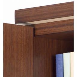 1cmピッチ薄型窓下収納庫 【幅58奥行31.5cm 引き出し4段】 天板下の補強板が安心感を高めます。