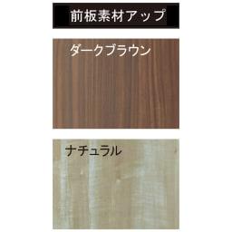 【日本製】引き戸式ミラーワードローブ 棚タイプ 幅118cm 前板素材アップ、表面のシートはオレフィンシートで傷に強い素材です。