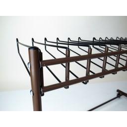 パンツ&ジーンズハンガーラック 15本掛け 幅105cm
