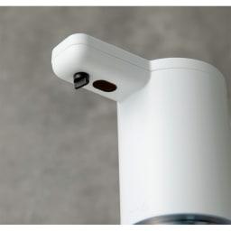 オートソープディスペンサー(液体タイプ)2個組 赤外線センサーは、ノズルの近くに。