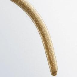 MAWAスリムハンガー(人体)15本組 (ア)(ウ)の色:シャイニーゴールド