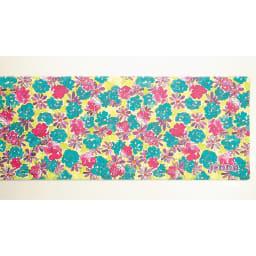 Jocomomola/ホコモモラ 汚れが拭けるPVCキッチンマット 45×240cm (イ)花柄