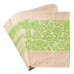 シンクの生ごみに!三角コーナーいらずの防水紙の水切り袋 320枚 (イ)グリーン たっぷり280枚セットです!