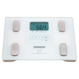 OMRON/オムロン 体重体組成計 使いやすいから続けられる!!毎日の体重チェック収納もスマートに!