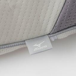 ミズノ・dinos 共同企画商品 メディブレスピロー ピローケース付きセット ミズノのロゴ入り(枕本体側地)
