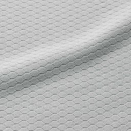 ミズノ・dinos共同企画商品 メディブレスピロー 専用ピローケース1枚 生地アップ:吸水速乾性に優れ、汗をかいても素早く吸収してサラリと気持ちいい。