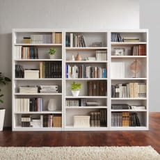 頑丈棚板がっちり書棚(頑丈本棚) ハイタイプ 幅70cm