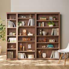 頑丈棚板がっちり書棚(頑丈本棚) ハイタイプ 幅90cm