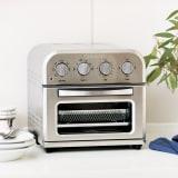 クイジナート エアフライオーブン トースター シルバー色単品 写真