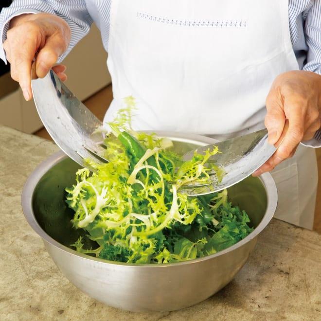 サラダハンド いつものサラダが何倍もおいしくなる!サラダづくりが本当に楽しくなる道具です