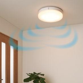 新LEDスマートシーリングファン 写真
