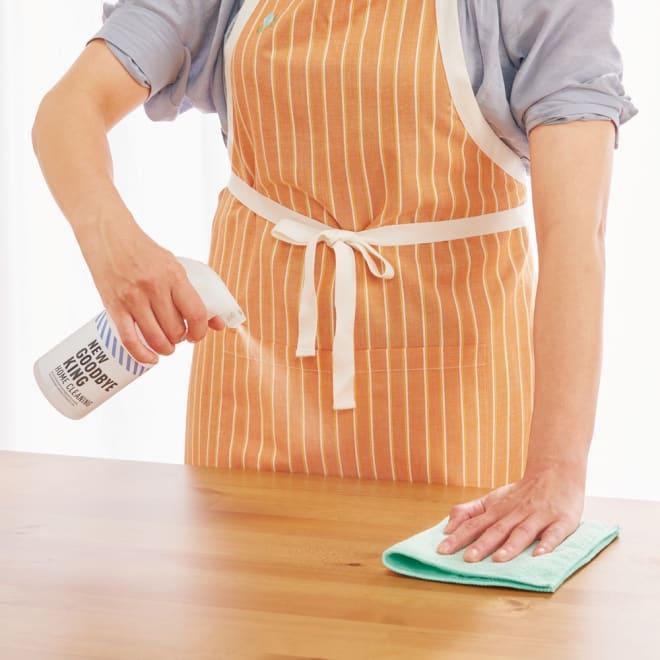 次亜塩素酸除菌水「Newグッバイ菌グ」 特別セット 食卓に セットのスプレーボトルに5倍に薄めて使えます。食事の前後、除菌が気軽な習慣にできます。