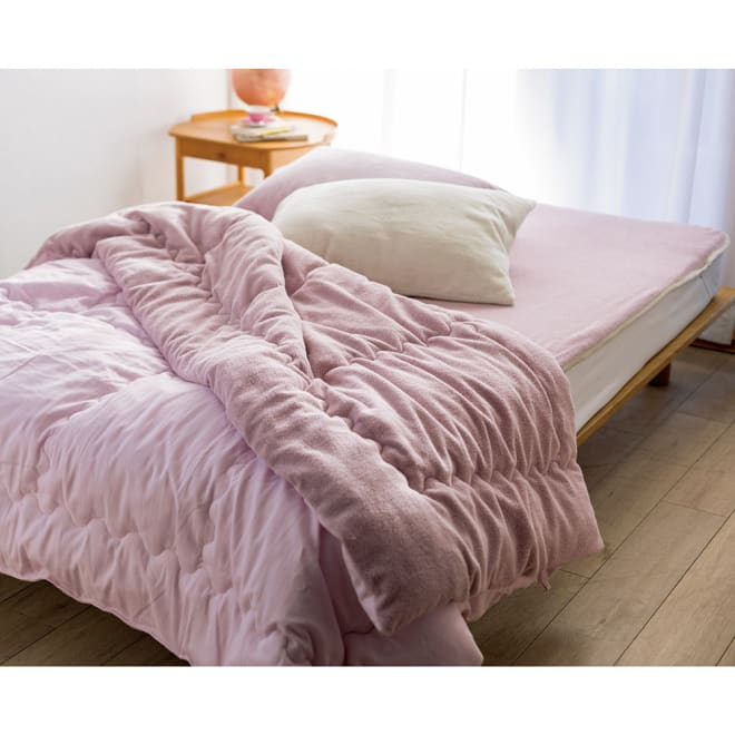 今治製タオルの寝具シリーズ 掛け布団 染色 コーディネート例 ※お届けは掛け布団(染色)になります。
