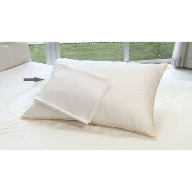 フィベールピロープレミアム 専用枕カバー 大判用(2枚組) ※こちらはカバーのみのお届けとなります。