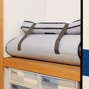折りたたみできる薄型 高密度連続スプリングマットレス プレミアム シングル 写真