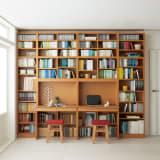 本好きの為のデスクシリーズ シェルフ 幅60cm 写真
