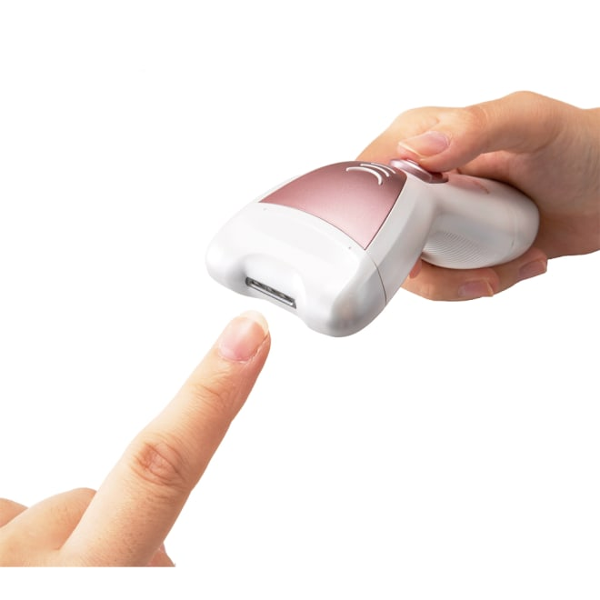 3WAY電動爪削り 爪削り…硬い爪も安全に削り取る回転刃。
